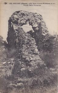 DREVANT (Creuse) , France , 1910s ; pres Saint-Amand-Montrond, Ruines Gallo-R...