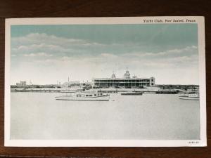Yacht Club, Port Isabel, Texas TX D21