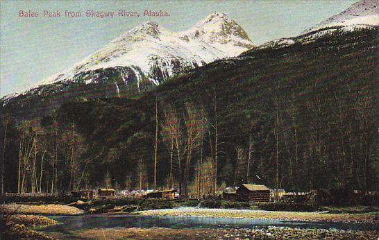Alaska Bates Peak From Skagway River