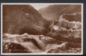 Scotland Postcard - The Waterfall and Gorge Pass of Glencoe  DC1721