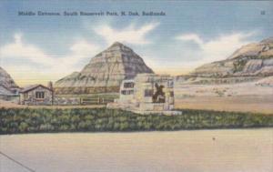 North Dakota Badlands Middle Entrance South Roosevelt Park  1942