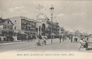 REVERE, Massachusetts, 1901-07; Revere Beach Boardwalk & Nautical Garden