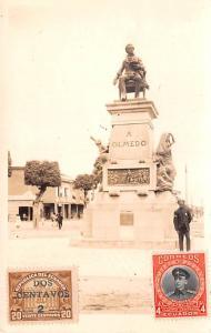 Ecuador, Republica del Ecuador A Olmedo Statue  A Olmedo Statue