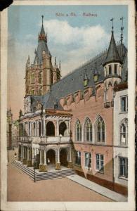 Koln am Rhein Rathaus Germany