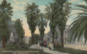 NEW ORLEANS, Louisiana, 00-10s; Palm Garden, Margaret Statue