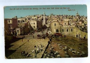 206555 PALESTINE BETHLEHEM Vintage postcard
