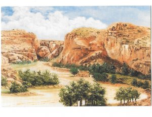 Turkey Run Navajo Country from Original Oil Painting William Mewhinney