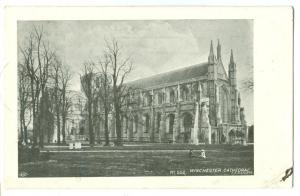 UK, Winchester Cathedral, 1903 used Postcard