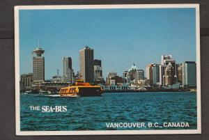 Sea Bus On The Vancouver Harbour Front - 1982 Used