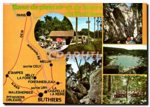 Postcard Modern Outdoor Base and Recreation Buthiers
