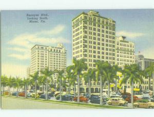 Unused Linen COLUMBUS HOTEL ON BISCAYNE BOULEVARD Miami Florida FL hr7943