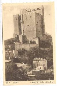 La Tour (XI Siecle) Cote Sud-Est, Crest (Drôme), France, 1900-1910s