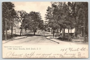 North Beach Long Island New York~Picnic Grounds~Cottages~Laundry Line~1905