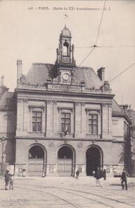 PARIS, France, 1900-1910´s; Mairie Du XX Arrondissement