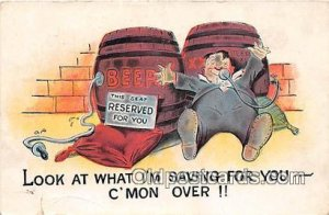 Baby Bottle Vintage Collectable Postcards Writing on back
