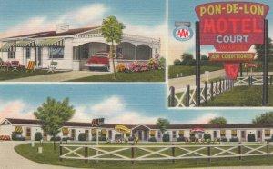 WALTON , Kentucky , 1930-40s ; Po-De-Lon Moptel