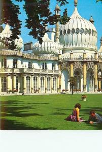 Postcard England Littlrhampton Sussex Aerial Mosque Grounds Temple   # 2779A