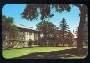 Hamilton, New York/NY Postcard, The Quadrangle, Lathrop Hall