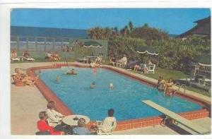 Coquina Hotel, Pool, Ormond Beach, Florida, PU-1963