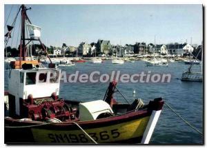Postcard Modern Piriac Sur Mer Port