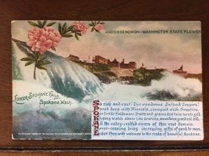 1909 Lower Spokane Falls, Spokane, Washington WA Poem d10