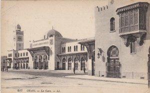 Algeria Oran La Gare Railroad Station sk4472