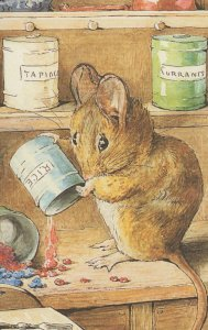 The Tale of Two Bad Mice Hunca Munca Beatrix Potter Book Postcard