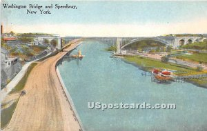 Washington Bridge & Speedway, New York City, New York
