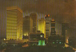 Singapore Office Buildings Along Shenton Way & Robinson Road 1978