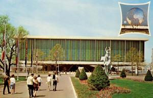 NY - New York World's Fair, 1964-65. United State Pavilion