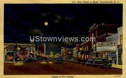 Hay Street Fayetteville NC 1942