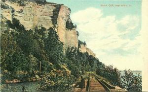 C-1910 Railroad Mississippi River Sr Louis News Postcard 5039