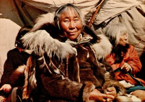 Canada Alberta Grandma Eskimo Women Of The Arctic