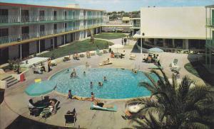Swimming Pool , Tidelands Motor Inn , Tucson , Arizona , 40-60s