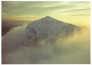 Postcard, Snow Covered Snowdon, North Wales by Origins (P1) 21E