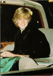 Diana Princess of Wales Royals Royalty Jayne Fincher Unused Vintage Postcard C3