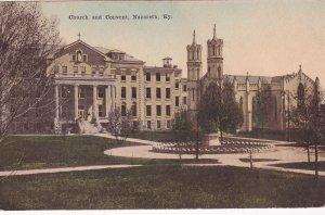NAZARETH , Kentucky , 1900-10s ; Church and Convent