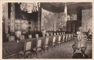 Netherlands Den Haag Palace Of Peace Room Of The Conseil Administratif Real P...