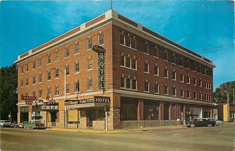Lusk Wyoming Ranger Hotel Silver Spur Cafe Oasis Bar Art Deco Sign