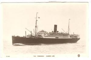 RP: Ocean Liner FRANCONIA , 00-10s Cunard LIne