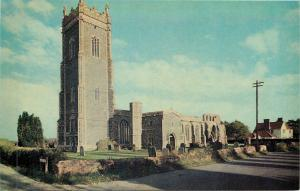 Walberswick UK~Walberswick Church & Cemetery Near Southwold Suffolk 1950