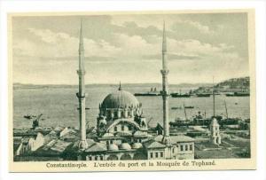 Constantinople. L´entree du port et la Mosquee de Tophane, 00-10s TURKEY