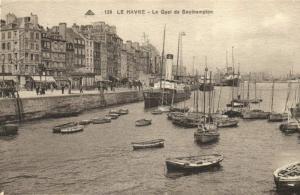CPA  Le Havre - Le Quai de Southampton   (201323)