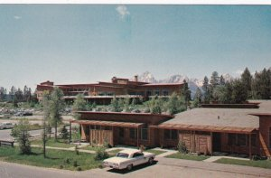 Wyoming Grand Teton National Park Jackson Lake Lodge Cottages sk5290
