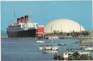 California Long Beach R M S Queen Mary & Spruce Goose Dome