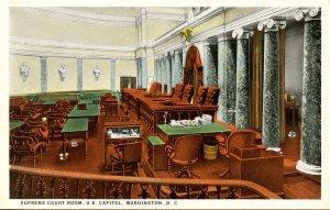 DC - Washington. Capitol Building, Supreme Court Room
