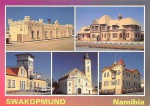 Namibia Swakopmund, The Alte Kaserne, The Prison Building, Lutheran Church