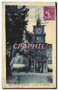 Old Postcard Salon Clock Tower