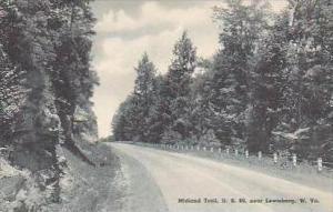 West Virginia Lewisburg Midland Trail Albertype