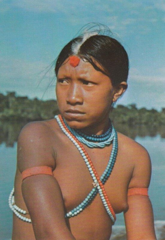 BRASIL NATIVO , 1960-80s ; Young Girl , Jurnas Tribe